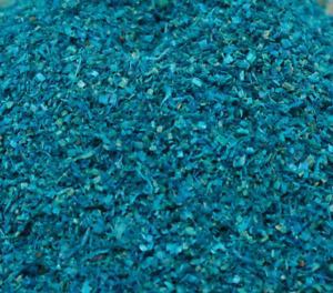 "Blue Model Landscaping Flakes - Model Railways - 5"" - 1.5oz jar - 311-0746"