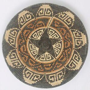 "Navajo Paiute Style Wedding Basket Butterflies- 13"""