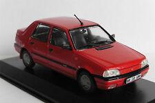 Dacia supernova red 2000 2003 deagostini 1/43 renault Balkans countries is altaya