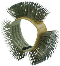 Dent Fix Spitznagel Medium Stainless Steel Wire Wheel Rust Remover Brush 702M