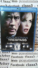 Blu-ray ITA - TRESPASS - CAGE KIDMAN