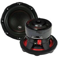 "AUDIOPIPE TXX-BDC3 8 Audiopipe 8"" Woofer 250W RMS/500W Max Dual 4 Ohm Voice C..."
