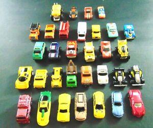 Micro Machines Lot Of 32 Galoob Funrise Playmates Road Champs Cars Trucks More