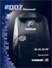 BRP Evinrude E-TEC 40 50 60 HP Outboard Motor Service Repair Manual CD - Etec