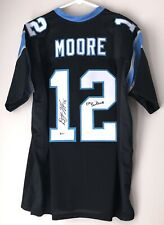D.J. Moore Signed Carolina Panthers Autographed Football Jersey Beckett BAS COA