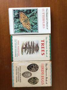 The Observers book of Butterflies, Trees & Birds Eggs