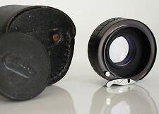 2X Teleconverter Manual Focus for  Exakta/Exa Cameras Black Leather Case JAPAN