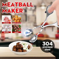 Stainless Steel Kitchen Meatball Maker Scoop Fish Meat Ball Poultry Mold