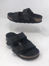 BIRKENSTOCK Childs Grey Soft Wool Slip On Sandals Size 35 UK 2