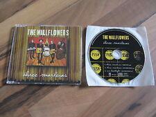 THE WALLFLOWERS Three Marlenas OOP 1998 EUROPEAN CD single 2 live tracks