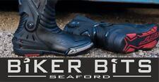 RST Tractech Evo-3 CE Black Waterproof 360 Heel Motorbike Sports Track Day Boots