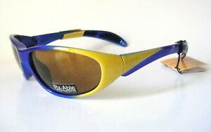 Rec Specs 61-17 130 RX able Biker Blue Sports Sunglass Mens Liberty Goggles