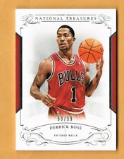 738e6778f1f7 2013-14 National Treasures Derrick Rose  99 Chicago Bulls  70