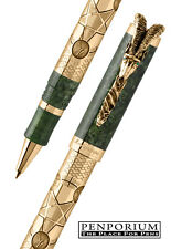 MONTEGRAPPA SOLID GOLD GOAT 2015 LIMITED EDITION ROLLERBALL PEN ISGTNRGG