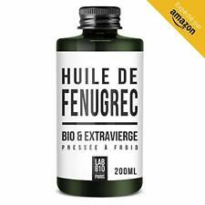 HUILE DE FENUGREC BIO 100% Pure et Naturelle, Pressée à Froid & Extra Vie...