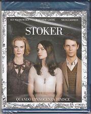 Blu-ray **STOKER** con Nicole Kidman nuovo 2013