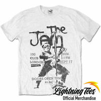 Official The Jam 100 Club 77 Band T-Shirt