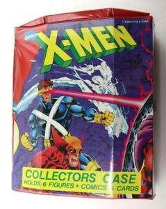 1992 Tara Toy Marvel Comics X-Men Collectors Case Holds 6 Figures Comics / Cards