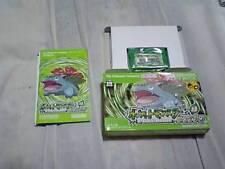 GBA Pokemon Leaf Green Japan Gameboy Advance w/box