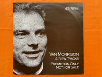 "Van Morrison -  4 New Tracks 1984 Promotional12"" vinyl EP  RARE see desc. & pics"