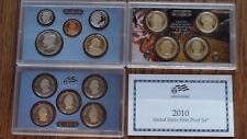 2010 S US Mint Clad 14 Coin Proof Set in US Mint Packaging & Includes a COA