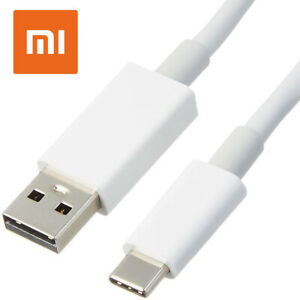 Câble USB Type C Xiaomi Original 100cm Blanc Bulk Pour Mi Max Mélanger 2 3 Ydm