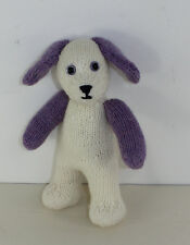 PRINTED KNITTING  INSTRUCTIONS-CUTE CUDDLY TOY PUPPY DOG ANIMAL KNITTING PATTERN