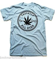 Marijuana T-Shirt, Weed , Cannabis, 420, blunt, bong, drugs men swag Cali stoner