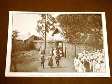 La malattia di Menelik nel 1910 Diplomazia d'Italia esce da Ghebi in Addis Abeba