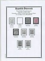 austria early Stamps Ref 15028