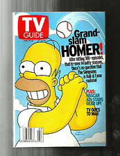 TV GUIDE-2/2003-THE SIMPSONS-NASCAR-DON GRADY-MICKEY MOUSE CLUB-CARL REINER
