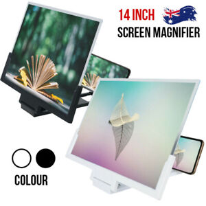 """14"""" NEW Folding Screen Magnifier 3D Amplifier Stand Mobile Phone Adjustable AU"""