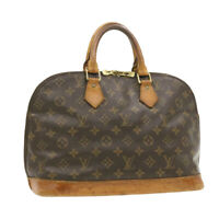 LOUIS VUITTON Monogram Alma Hand Bag M51130 LV Auth yk495