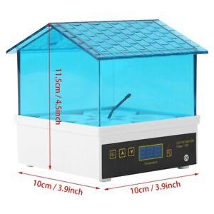 4 Eggs Incubator Temperature Control Digital Chicken Chick Duck Hatche