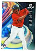 2018 Bowman Platinum #2 RAFAEL DEVERS RC Rookie Red Sox QTY AVAILABLE