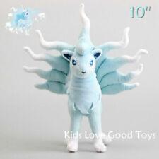 "Pokemon Sun/Moon Alola Ninetales Plush Toy Nine Tail Stuffed Animal Doll 10"""