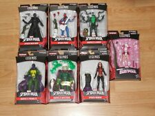 Marvel Legends Spider-Man Action Figures Series 9 Set BAF The Lizard