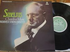 SH 285 Sibelius Chamber Music/BUDAPEST QUARTET/Telmanyi/Moore, etc.