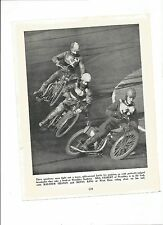 (Speedway) B & W Picture from a distressed copy of Every Boy's Book of Sport.