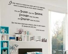 "Wall Decal Vinyl Quote ""if ever there is"" Christopher Robbin Winnie the Pooh"