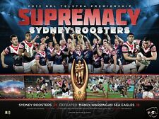 Sydney Roosters 2013 Premiers Sportsprint unframed Licensed Product