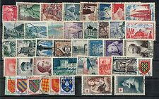 FRANCE ANNEE COMPLETE 1954 OBLITEREE COTE 260€ A VOIR