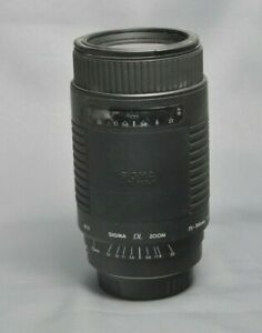 SIGMA DL ZOOM 75-300 CANON FIT
