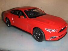 Toy Maisto Diecast 1:24 Red  2015 Mustang  NHRA car Hot Rod
