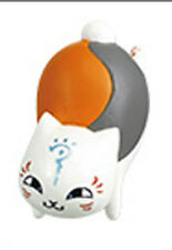 Natsume Yujincho Nyanko Sensei w/ Forehead Mark 3D Phone Strap Licensed NEW
