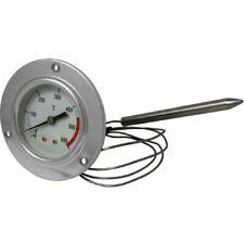 Thermomètre À Four Inox 600 °c Avec Sonde Flexible Et Fixation À Vis