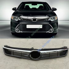 For TOYOTA CAMRY HYBRID 2015-16 Chrome ABS Front Bumper Center Grille Grill