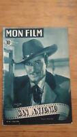 MON FILM N°95 1948 Errol Flynn - San antonio - dos Brenda Marshall