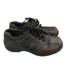 Sketchers Shoes Men's US 11 Brown Leather SN# 4400 Casual Comfort Walking EUR 45