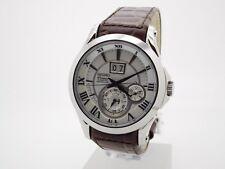 Seiko Premier Herrenuhr Uhr Kinetic Ewiger Kalender Saphirglas 10 BAR SNP023P1